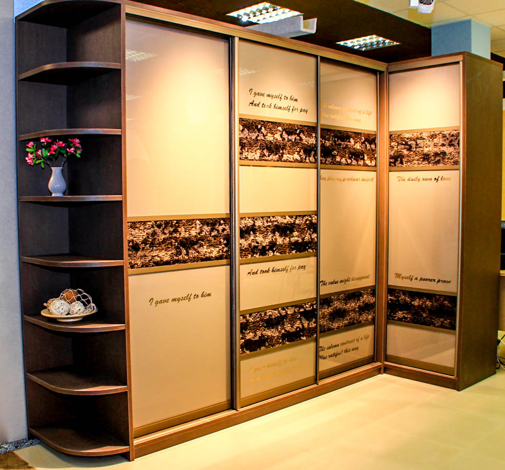 Угловой шкаф купе купить в СПб дешево от производителя