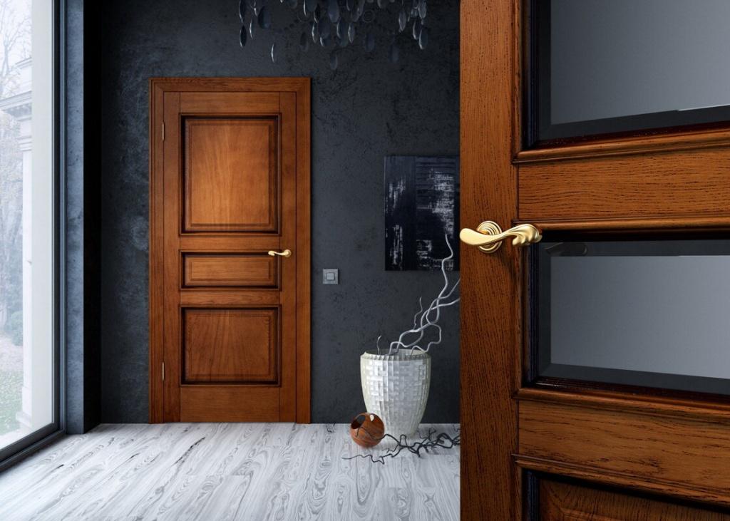Межкомнатные двери из дуба купить