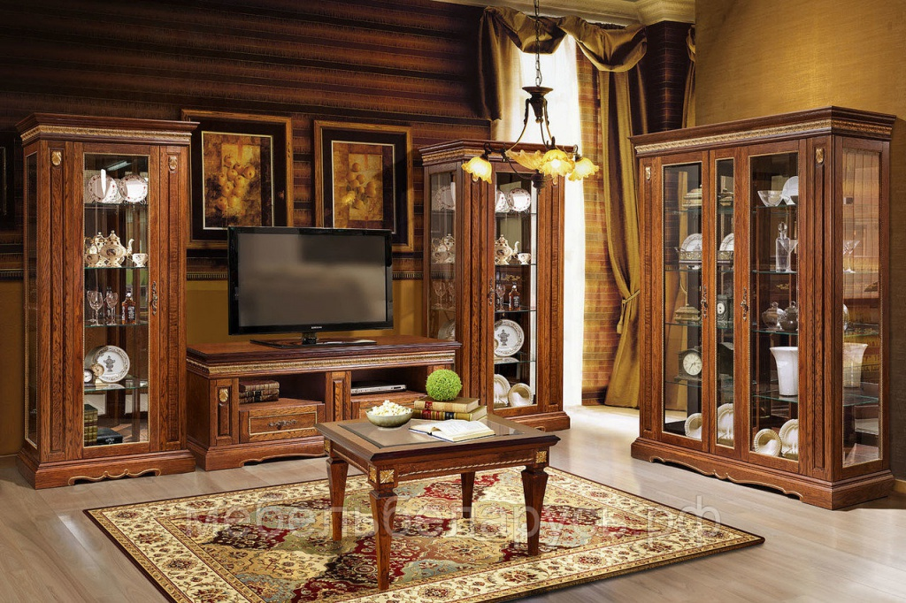 Мебель для гостиной из массива дерева от производителя ФМ Вавилон