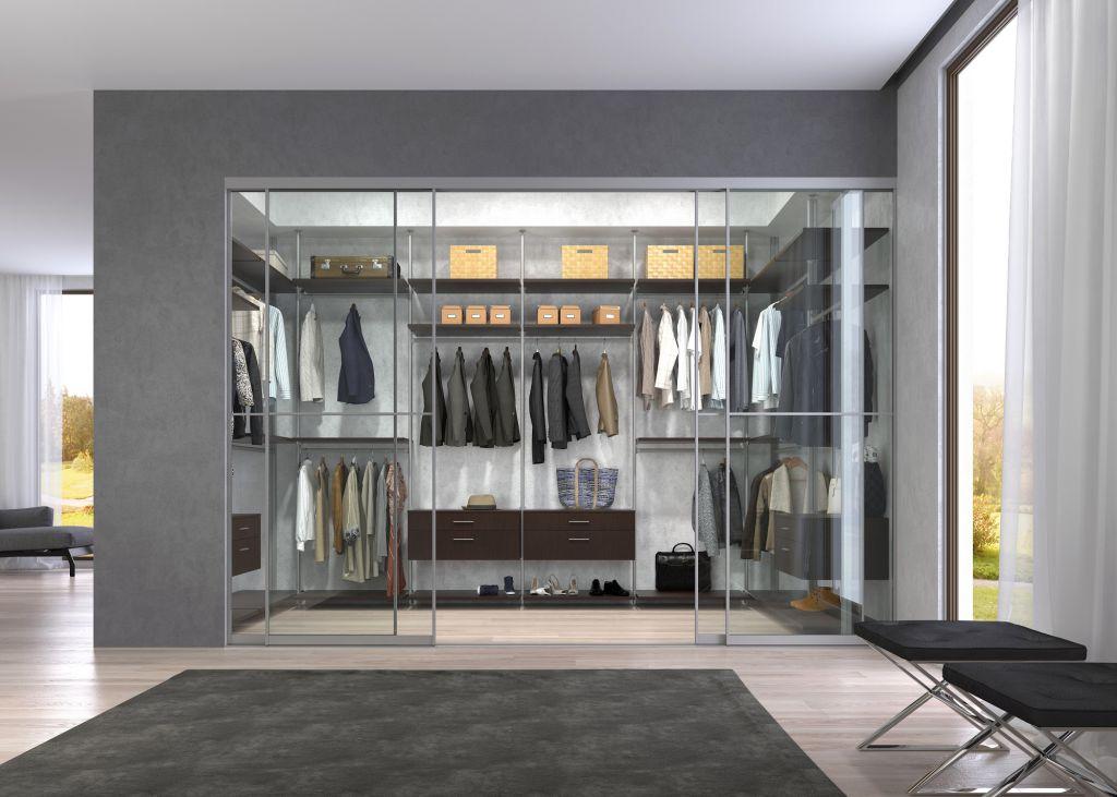 Заказать линейную гардеробную комнату в Санкт-Петербурге