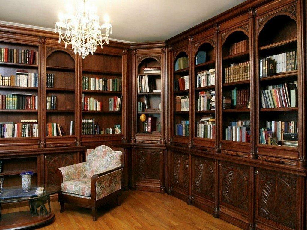"Библиотеки из массива дерева на заказ | ФМ ""Вавилон"""