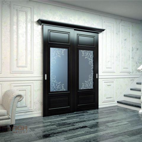 Раздвижные двери венге